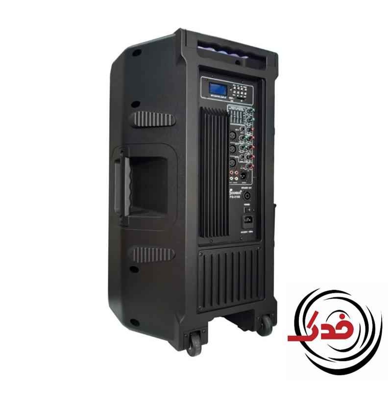 اسپیکر اکتیو فلشخور 15 اینچ Soundco / فروشگاه اینترنتی فدک ساند