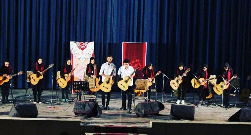 صدابرداری برنامه کنسرت هنرجویان آموزشگاه موسیقی ارغنون