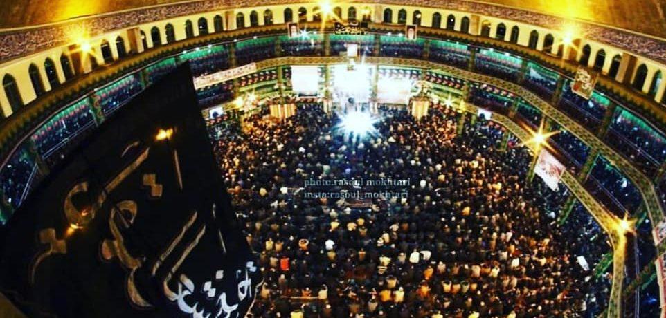 صدابرداری مراسم حسینیه باولگان شهرستان خمینی شهر دهه اول محرم الحرام ۱۴۴۰ / 1397