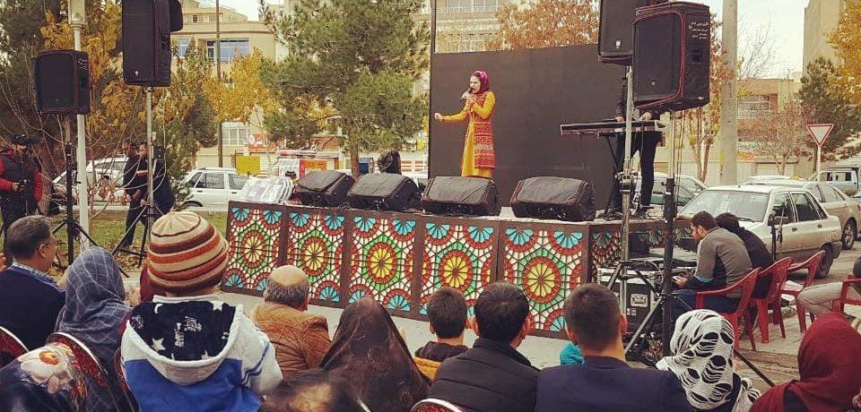 گروه صدابرداری فدک / افتتاحیه بازار روز ملکشهر