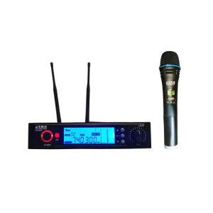میکروفون بی سیم jtr مدل 991، یک میکروفن دارای صفحه نمایش و آنتن دهی تا 200 متر / به همراه گارانتی و مهلت تست در فروشگاه فدک ساند www.fadaksound.ir