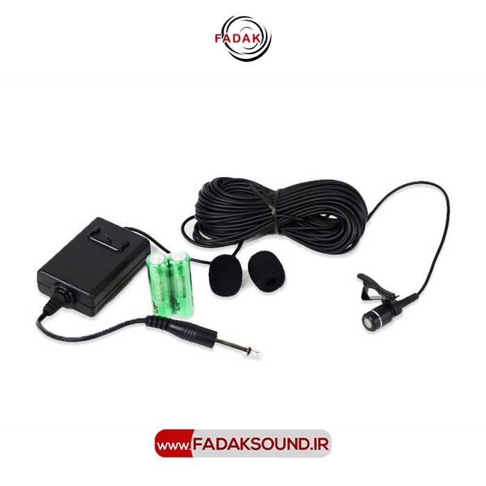 میکروفون یقه ای جاسکو مدل 250 / کیفیت بالا و بدون نویز / با مهلت تست یک هفته ای / جهت خرید و کسب اطلاعات بیشتر به سایت WWW.FADAKSOUND.COM مراجعه کنید.