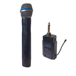 میکروفن بیسیم دستی skyvoice با ریسیور کوچک و بسیار با کیفیت/بسیار مناسب جهت اتصال به انواع اکوهمراه، اسپیکرهای پرتابل، میکسر صدا و اکوآمپلی فایر و ... می باشد. www.fadaksound.com