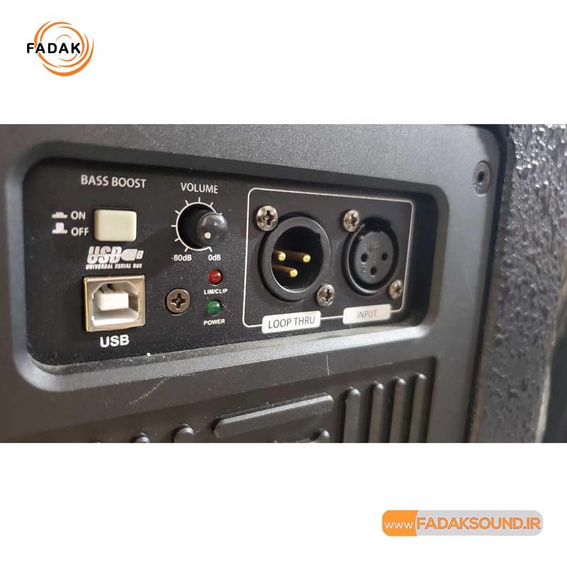 باند حرفه ای دبل اکتیو/ پرقدرت و با کیفیت / فروشگاه صوتی فدک نمایندگی کمپانی CVR